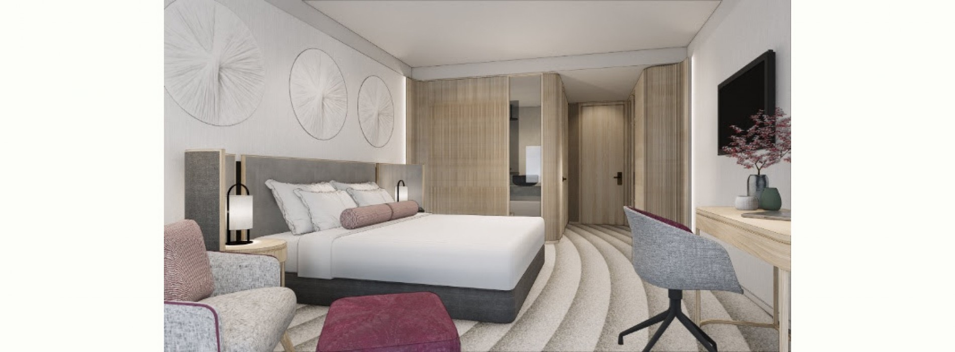 Bates Smart unveil designs for Ana Crowne Plaza Hotel in Kobe, Japan