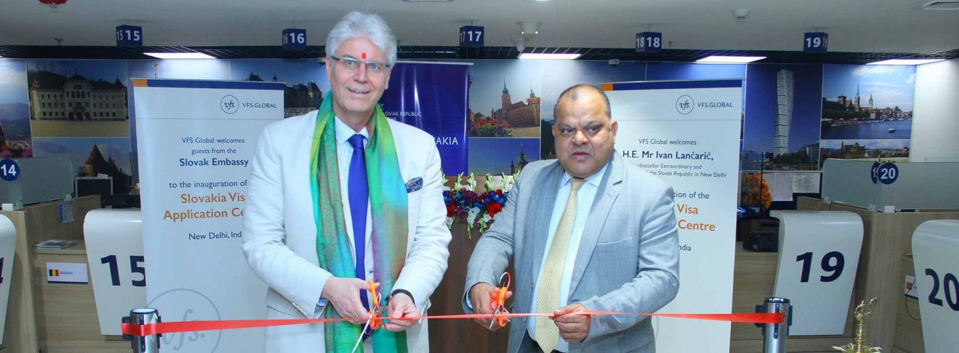 Slovakia Visa Application Centre inaugurated in New Delhi