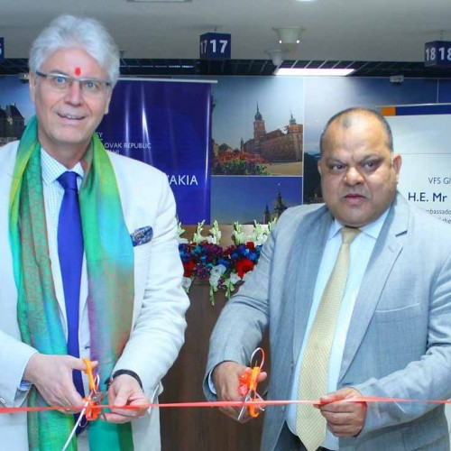 Slovakia Visa Application Centre inaugurated in New Delhi