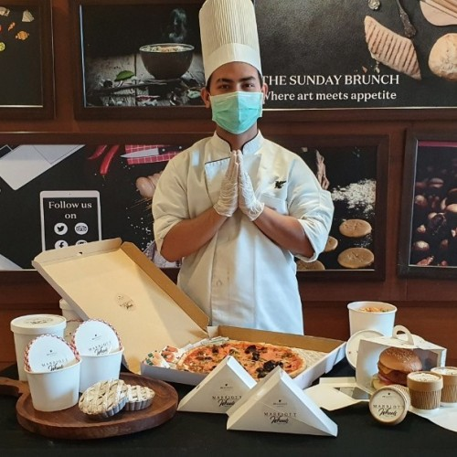 "ENJOY AN EXOTIC 5-STAR CULINARY EXPERIENCE AT YOUR HOME AS ""MARRIOTT ON WHEELS BY JW MARRIOTT CHANDIGARH"" BRINGS TO YOU A ""MARRIOTT AT HOME"" EXPERIENCE"