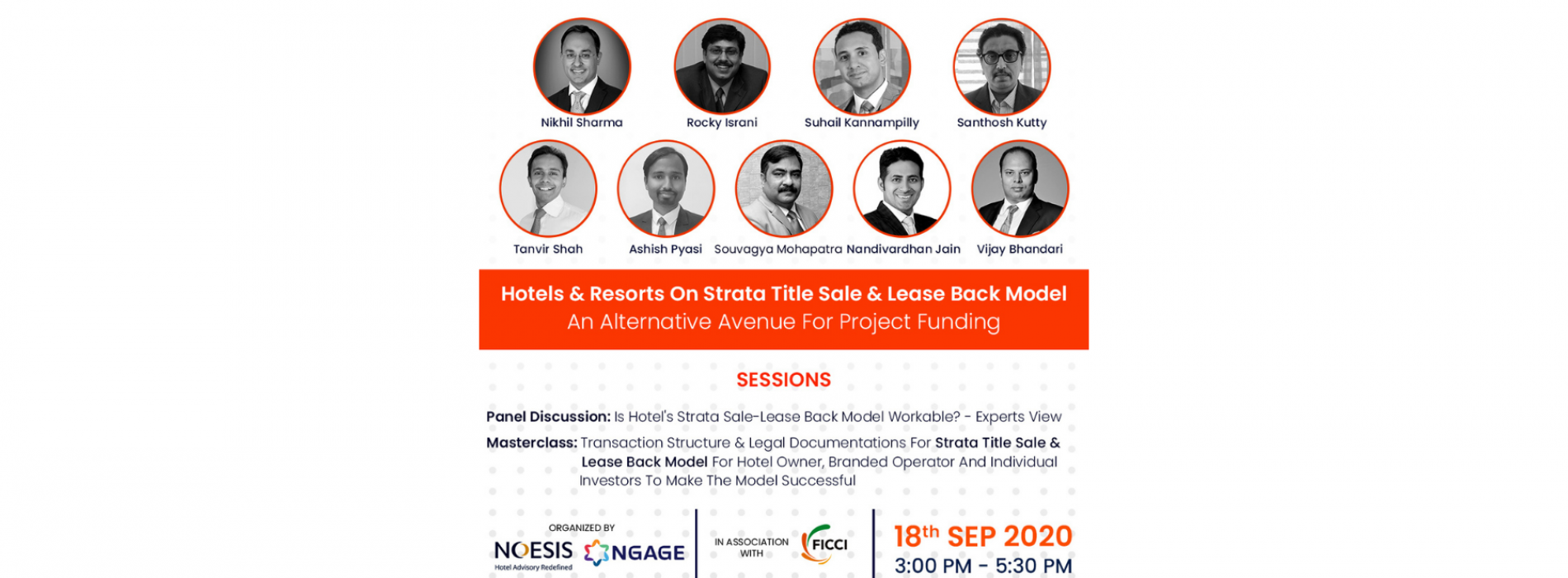 Noesis Capital Advisors & Ngage Hospitality's Live Masterclass on Sept 18th