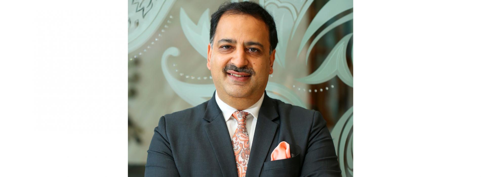 Sumeet Suri is the new General Manager of JW Marriott Kolkata