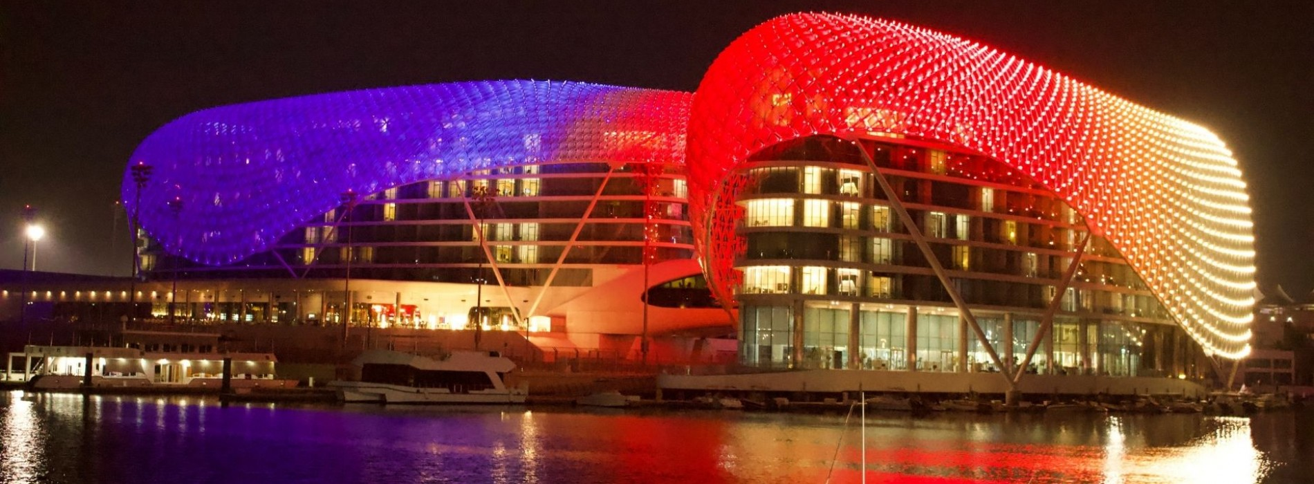 The Colors of Holi Soared across in Abu Dhabi's Yas Island